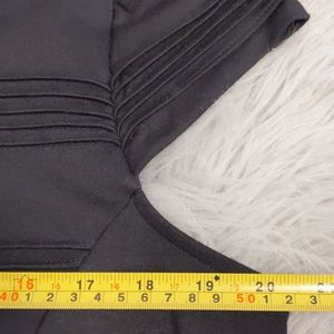 Elle Dresses - Elle Black Fit And Flare Cap Sleeve Midi Size 12